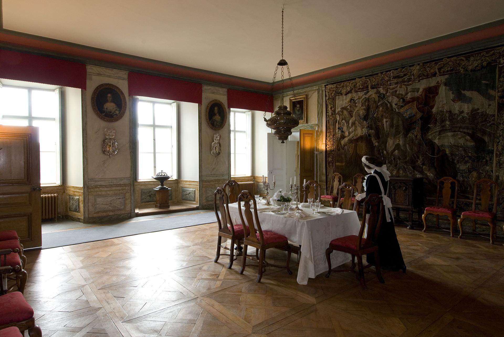 Stor sal i slottet