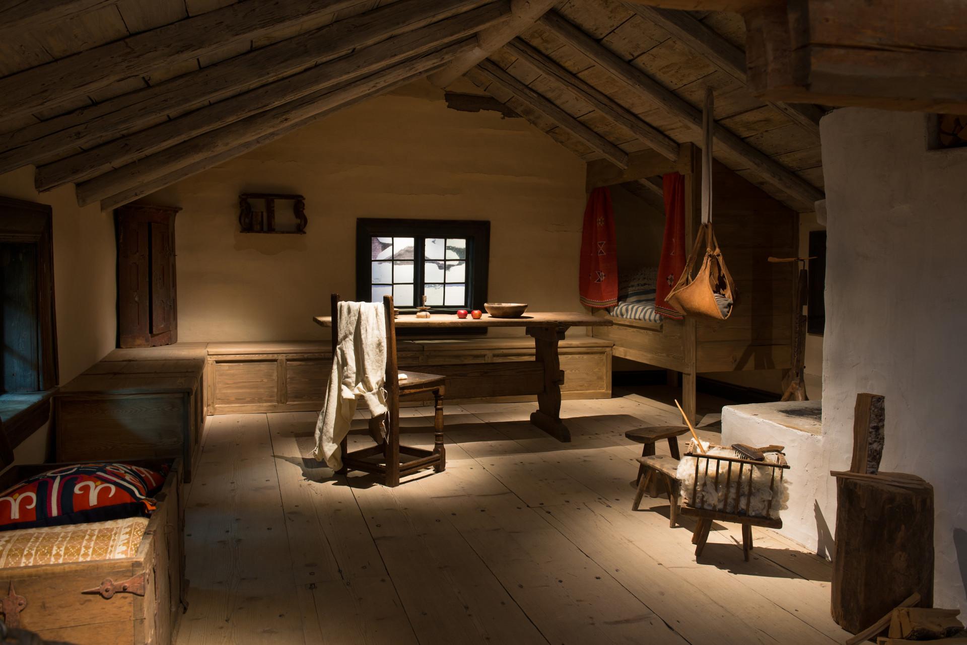 Interiör i utställningen. Foto: Peter Segemark/ Nordiska museet.