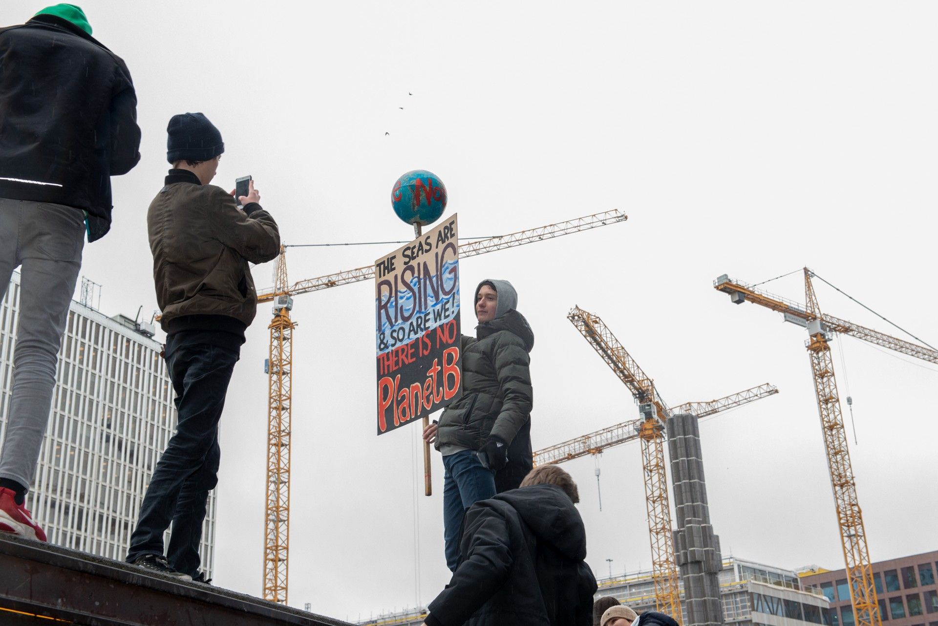 Demonstration in Stockholm. Photo: Nordiska museet