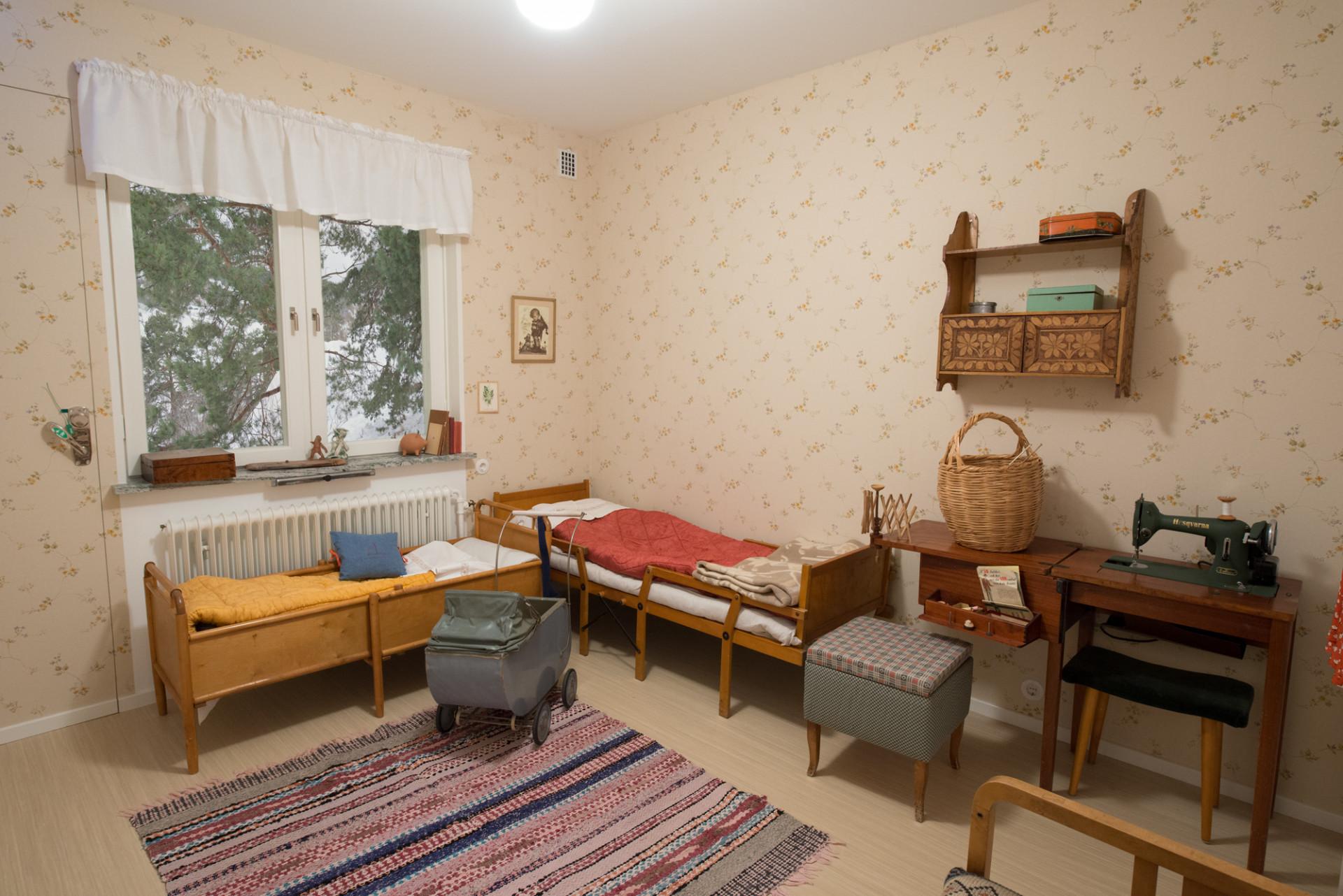 Sovrummet. Foto: Karolina Kristensson/ Nordiska museet.