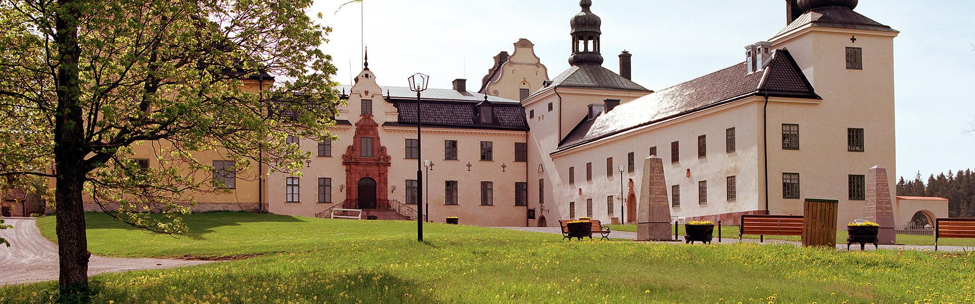 Tyresö slott från framsidan.