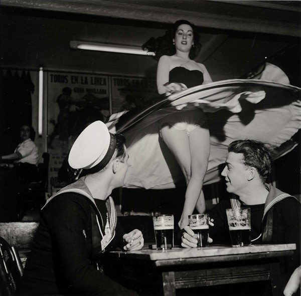 Gibraltar, 1952. Foto: KW Gullers