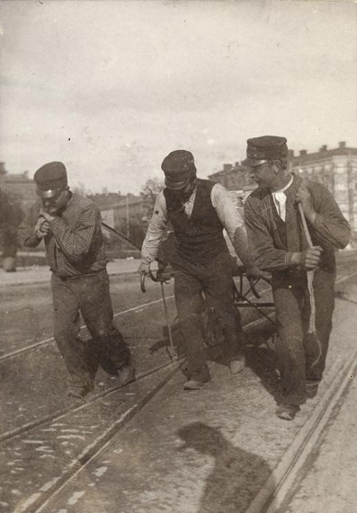 Norra Bantorget, Stockholm 18 juni 1902