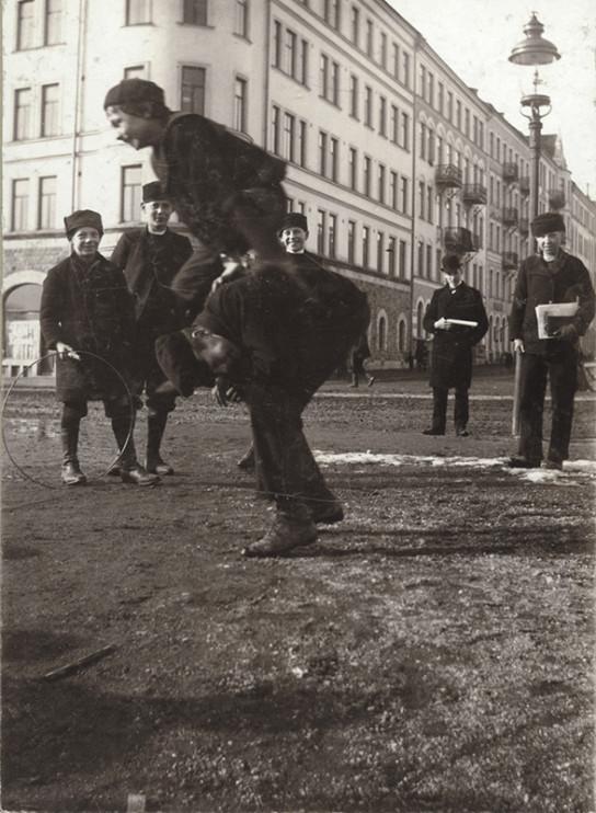Sabbatsbergsparken (nuvarande Vasaparken), Stockholm 15 mars 1901