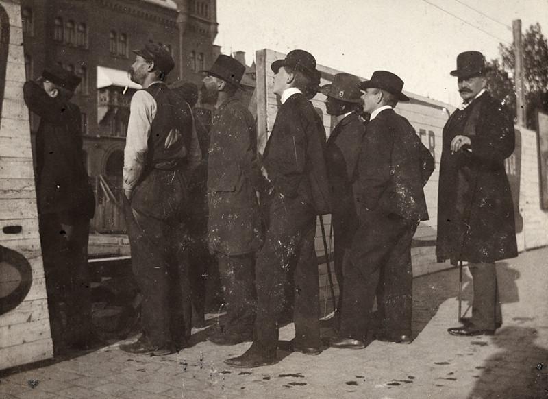 Nybroplan, Stockholm 14 juli 1902