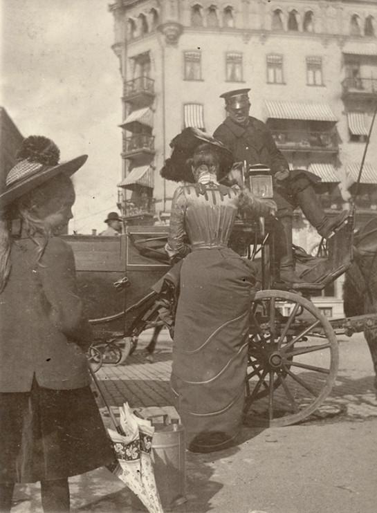 Strömkajen vid Grand Hotel, Stockholm 21 augusti 1902