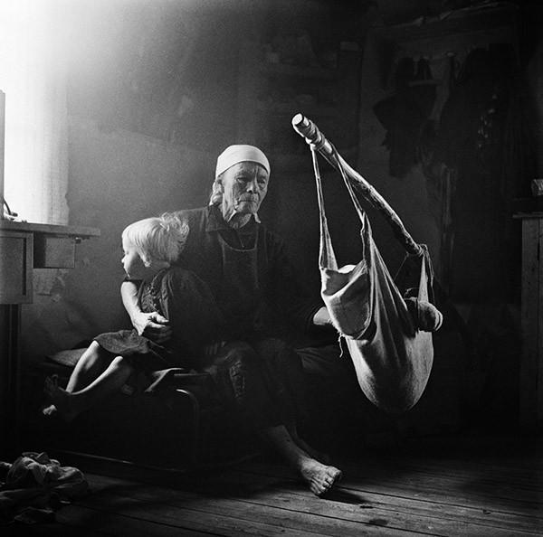 Karelsk kvinna. Foto: KW Gullers