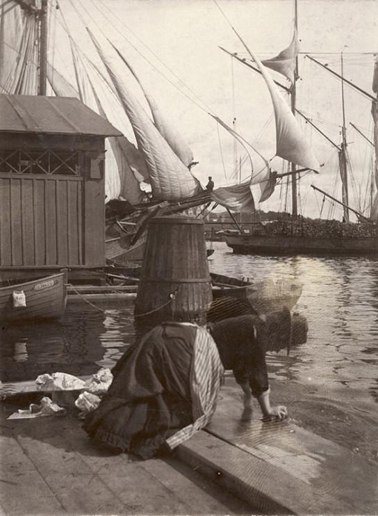 Strandvägen, Stockholm 27 augusti 1902