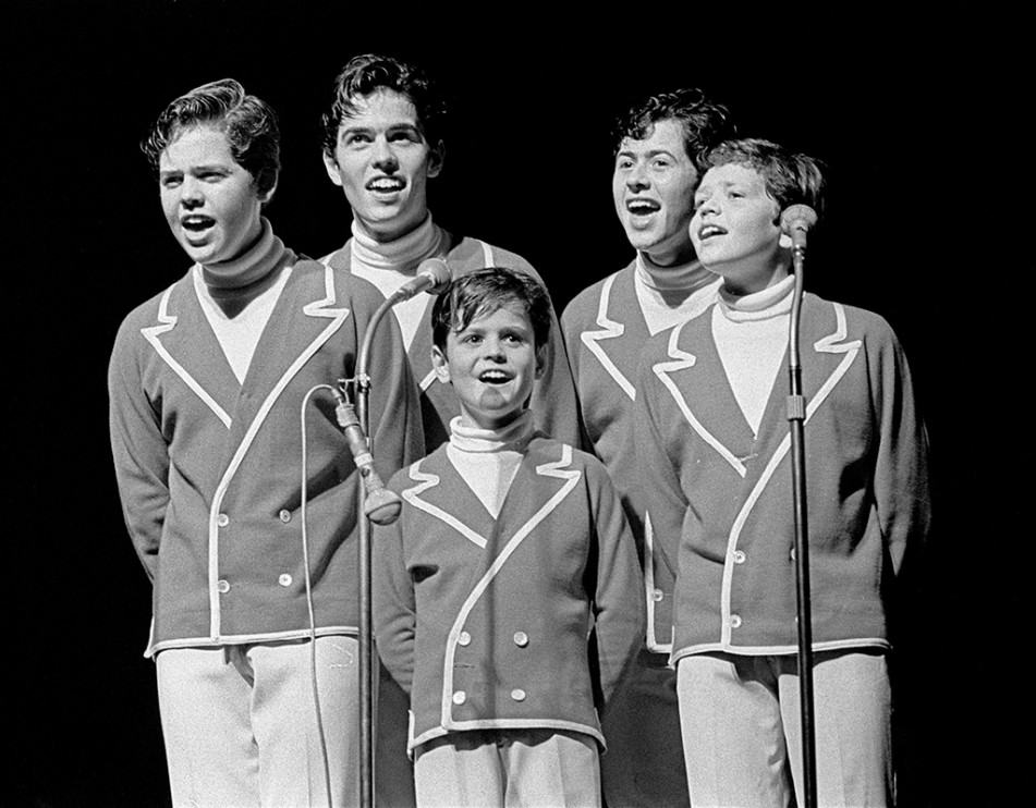 The Osmonds på Berns ca 1967