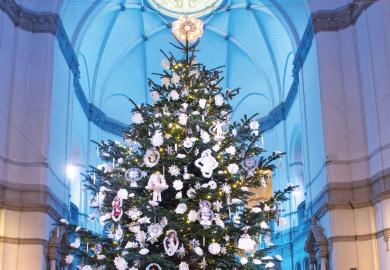 Jul på Nordiska museet. Foto: Peter Segemark/ Nordiska museet