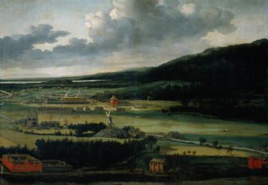 Juita styckebruk, målning av Allart van Everdingen 1600-tal