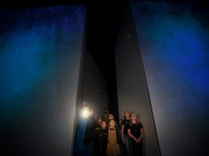 Natt på Nordiska museet. Foto: Nina Varumo
