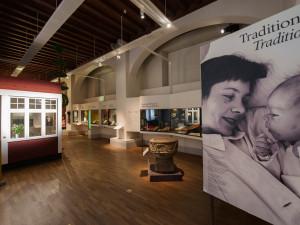 Bild från utställningen Traditioner. Foto: Karolina Kristensson/ Nordiska museet.