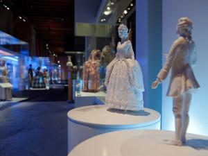 Taktila figurer i utställningen Modemakt. Foto: Karolina Kristensson