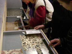 Textilgalleriet på Nordiska museet. Foto: Mats Landin