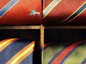 16 slipsar. Foto: Birgit Branvall, Nordiska museet.