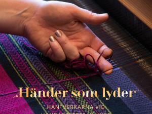 Omslagsbild Händer som lyder. Foto: Peter Segemark, Nordiska museet.