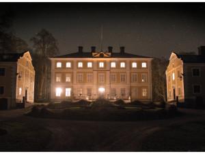 Herrgården på natten. Foto: Peter Segemark, Nordiska museet.