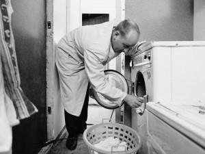 Tvättstugan.