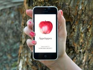 Nordiska museets app Äppelappen. Foto: Peter Segemark, Nordiska museet.