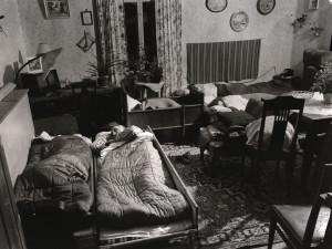 Vardagsrummet.