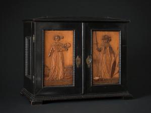 Kabinettskåp, Eger, Böhmen, ca 1650. Foto: Mats Landin, Nordiska museet.