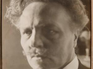 August Strindberg Självporträtt