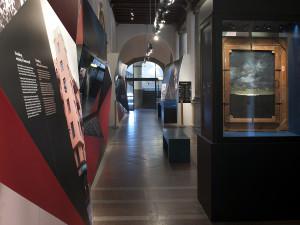 Bild från utställningslokalen.