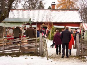 Härkeberga. Foto: Peter Segemark/ Nordiska museet