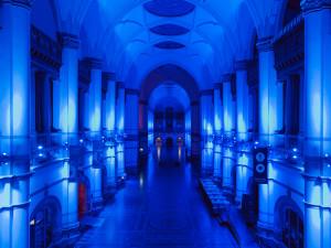 Natt på Nordiska Museet. Foto: Emma Fredriksson
