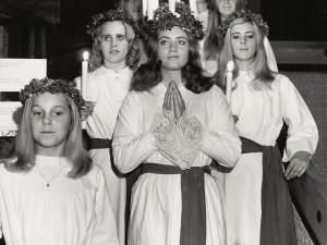 Lucia. Foto: Gösta Glase/ Nordiska museet